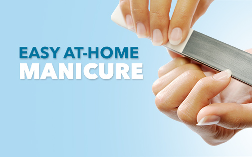 Easy at-home manicure