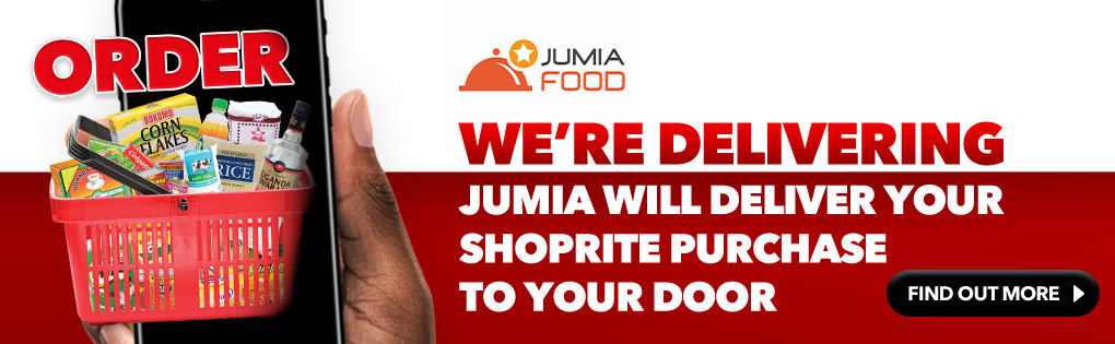 JUMIA WILL DELIVER YOUR SHOPRITE PURCHASE TO YOUR DOOR