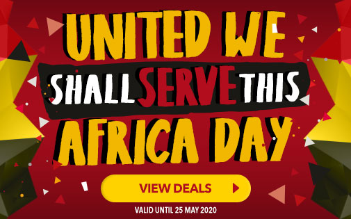 UNITED WE SHALL SERVE THIS AFRICA DAY