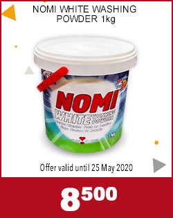 NOMI WHITE WASHING POWDER 1kg, 8,500